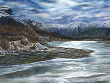 Landscape Artist in Alberta Canada